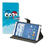 kwmobile Samsung Galaxy Note 3 Neo Custodia Portafoglio - Cover Magnetica con Stand in Simil Pelle - Case Porta Carte per Samsung Galaxy Note 3 Neo