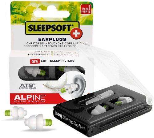 Alpine SleepSoft+ Bouchons d'oreilles pour dormir Blanc image 2