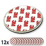 12x Nemaxx NX1 Quickfix Magnet für Rauchmelder/Funkrauchmelder / 230V Rauchmelder