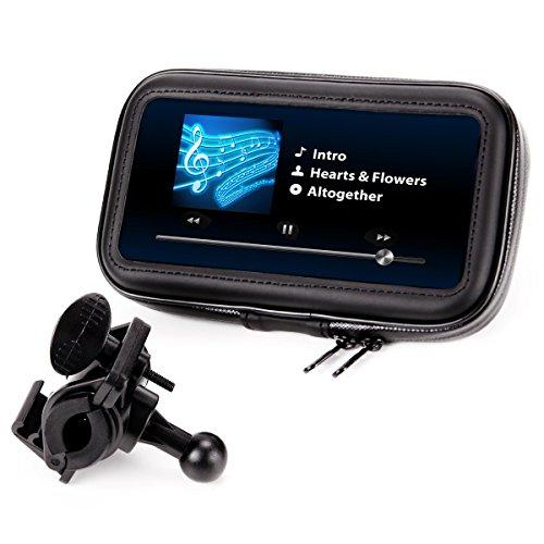 Soporte GPS/Smartphone para Moto, Bici, Scooter – Funda/Carcasa Protectora, Parcialmente Impermeable –...