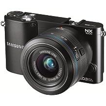 Samsung NX1000 Systemkamera (20 Megapixel, 7,6 cm (3 Zoll) Display) inkl. 20-50mm F3.5-5.6 ED II Objektiv schwarz