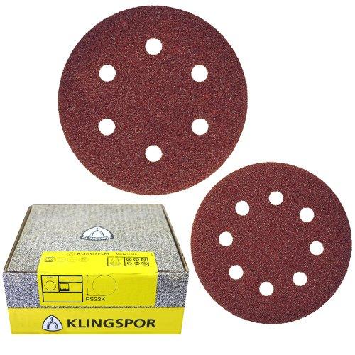 Klingspor, 89491, Mola/auto-chiusura PS 22 K, 125 mm, usato  Spedito ovunque in Italia