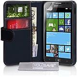 Samsung Ativ S Tasche Samsung Ativ S Schwarz PU Leder Brieftasche H�lle schwarz