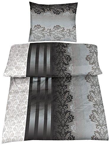 4 Teilig Microfaser Bettwäsche Ruben 135x200 + 80x80