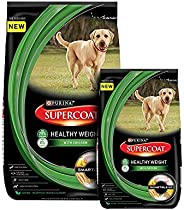 PURINA SUPERCOAT Healthy Weight Dry Dog Food - 3Kg (with 400g Free)