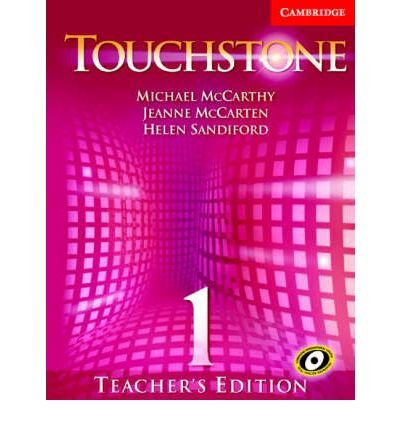[(Touchstone Teacher's Edition 1 Teachers Book 1 with Audio CD)] [Author: Michael J. McCarthy] published on (June, 2005)