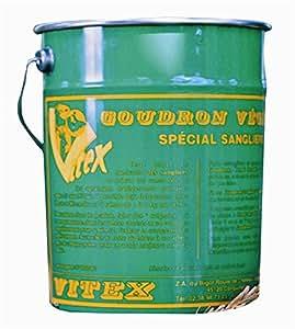 goudron vegetal special sanglier vitex pack de 4 bidon de 5kg
