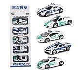 Zantec Modello di auto Giocattoli per bambini Mini Alloy Car Model Toys Set per la collezione di regali Voiture de police