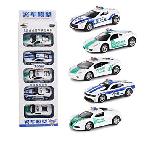 g Auto Modell Spielzeug Set Sport Auto / Polizei Auto / Feuer Kämpfen LKW / Militärfahrzeuge / Engineering Fahrzeuge ziehen Auto Spielzeug für Geschenk Sammlung ()