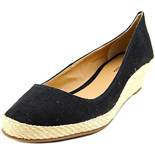 Lucky Brand Tilly Damen Rund Stoff Keilabsätze Black