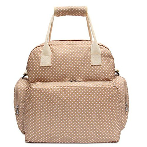 fanova-oxford-fabric-baby-lie-pad-mummy-bag-outdoor-shoulders-pregnant-women-diaper-bag-tote-beige