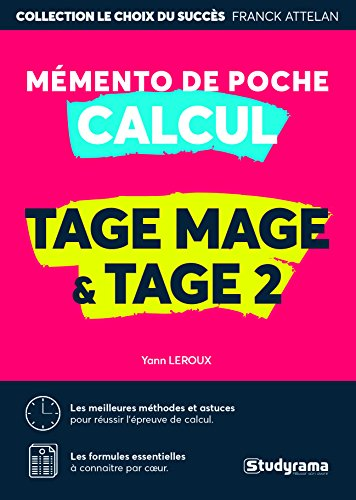 Mmento calcul : Tage Mage/Tage 2