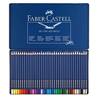 Faber-Castell ART GRIP AQUARELLE TIN OF 36