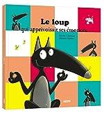Le Loup qui apprivoisait ses emotions (grand format) de Orianne Lallemand