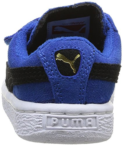 Puma, Baskets mode mixte bébé Bleu (Strong Blue/Black)