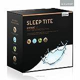 Sleep Tite umhüllen LT Bettwanzen Wasserfeste Matratze umgreifung Displayschutzfolie, Polyester, weiß, Volle Größe