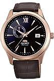 Orient Herren Analog Automatik Uhr mit Leder Armband FAL00004B0