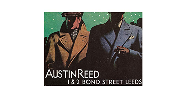 Wee Blue Coo Advertisement Austin Reed Bond Street Leeds Yorkshire 30x40 Cms Fine Art Print Art Poster Bb7232 Amazon Co Uk Kitchen Home