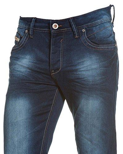 BLZ jeans - Jeans homme bleu aspect jogjeans Bleu