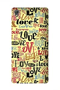 ZAPCASE Printed Back Case for SONY XPERIA T3