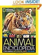 #8: National Geographic Animal Encyclopedia: 2,500 Animals with Photos, Maps, and More! (Encyclopaedia )