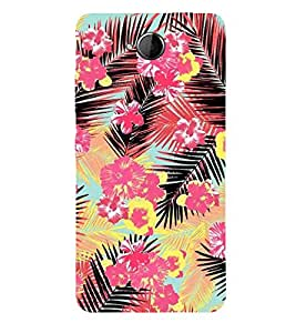 Fiobs Designer Back Case Cover for Microsoft Lumia 650 :: Microsoft Lumia 650 Dual SIM (Flowers Theme Floral Love Lovely Gift)