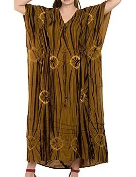 *La Leela* -  Camicia da notte  - Kimono - opaco - Donna
