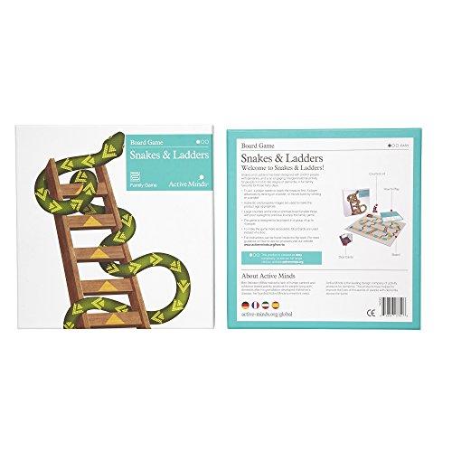 Serpientes y Escaleras: Juegos y recursos especializados para la demencia y el Alzheimer de Active Minds