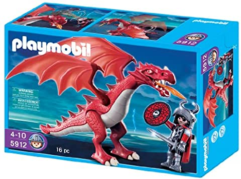 Playmobil 5912 - Red Dragon with Knight