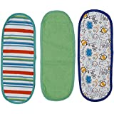 Nature Kids 100% Cotton Baby Cloth Printed Burp Cloth Multicolor For Kids (Pack Of 6)