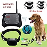 Best Wireless Dog Fences - TDC Wireless Electric Pet Dog Fence Containment System Review