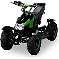 Mini Kinder ATV Cobra 49 cc Pocketquad 2-takt Quad (grün / schwarz)