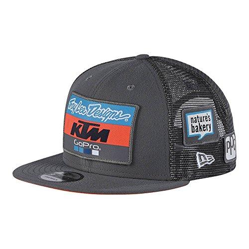 Troy Lee Designs Snapback Cap KTM Team Grau