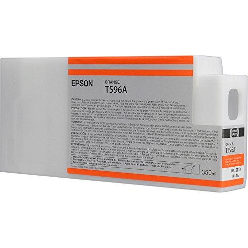 Epson T596A C13T596A00 - Cartouche d'encre d'origine - Orange pour Stylus Pro - 350ml