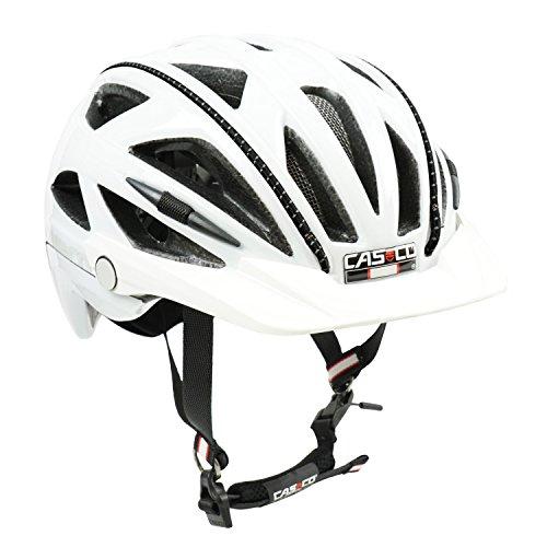 Fahrradhelm Casco Activ 2U, weiß - Biese schwarz, L (58-62 cm)