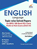 English Language Topic-wise Solved Papers for IBPS/ SBI Bank PO/ Clerk Prelim & Main Exam (2010-19)