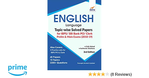 Buy English Language Topic-wise Solved Papers for IBPS/ SBI