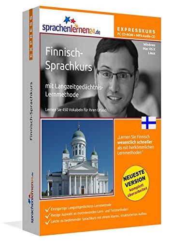 Finnisch-Expresskurs mit Langzeitgedächtnis-Lernmethode von Sprachenlernen24: Fit für die Reise...