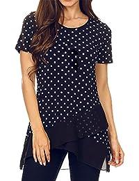 Semana Amazon Y Tops es Última Mujer Camisetas Blusas Camisas qYqI1