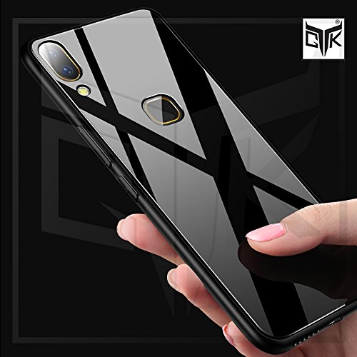 purchase cheap f9f1b 22dbd TheGiftKart Vivo V9/V9 Youth Back Case Cover: Original Luxurious Toughened  Glass Back Case with Shockproof TPU Bumper