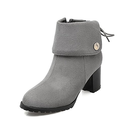 agoolar-womens-round-closed-toe-low-top-high-heels-solid-imitated-suede-boots-gray-37