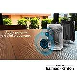 Netgear Orbi RBS40V-100EUS - Altavoz inteligente adicional Orbi Voice con control de voz (3 Gbps, tres bandas, 186 metros cuadrados, con Alexa y tecnología Harman Kardon)