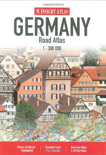Insight Travel Maps: Germany por Insight