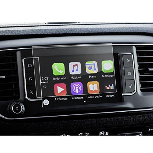 LFOTPP Navigation Protection d'écran pour Citroën C4/C4 Picasso/Grand C4 Picasso 7 pouces Système de Navigation Film Protection en Verre Trempé - 9H Anti-rayures