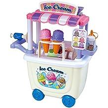 Playgo - Carrito de helados gourmet - 28 piezas (ColorBaby 44589)