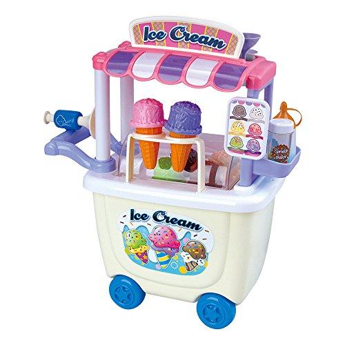 Playgo - Carrito helados gourmet - 28 piezas ColorBaby