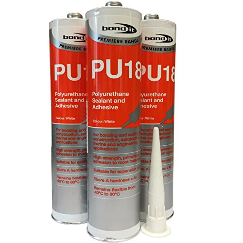 5-tubes-pu18-white-polyurethane-sealant-adhesive-strong-flexible-for-construction-auto-and-marine-ap