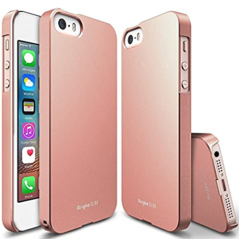 Batterie Gold Iphone 5s - Coque iPhone SE, [Ringke SLIM] Essentiel Mince,