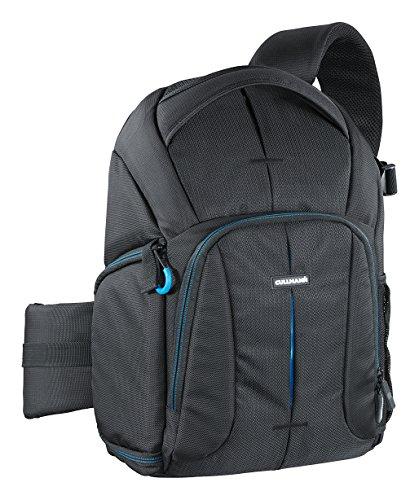 Cullmann Sydney pro CrossPack 400+ Slingbag-Kamerarucksack (Größe: M) für SLR-Ausrüstung/Tablet bis 25,7 cm (10,1 Zoll) schwarz (Kamera-ausrüstung)