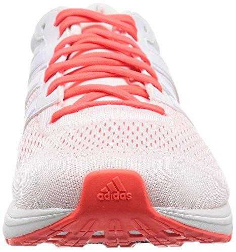 adidas Adizero Boston 6, Scarpe da Corsa Uomo Bianco (Blanco (Ftwbla / Ftwbla / Rojsol))